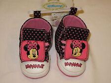 NWT DISNEY MINNIE MOUSE infant shoe GIRL 9-12M pink, black