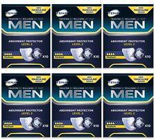 TENA MEN PROTEZIONE ASSORBENTE Level 2-X60 (6 confezioni da 10) vescica debole
