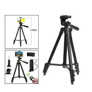"""Phone Tripod, 42""""Extendable Lightweight Aluminum Tripod Stand for iPhone with"""
