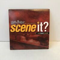 Harry Potter Deluxe Edition Scene It? Replacement Game DVD Disc Only
