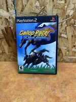 GALLOP RACER 2003 A NEW BREED PS2 SONY PLAYSTATION 2 NO MANUAL