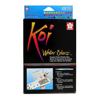 Koi Watercolor Field Sketch Bx 48 Pc Set