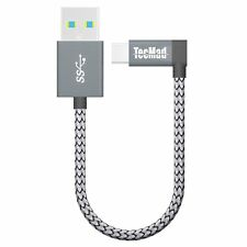 USB C 3.0 charging Cable TecMad USB Type-c3.0 Sync&Data Cable 90 Degree Plug C -