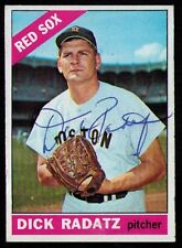 1966 Topps #475 Dick Radatz AUTOGRAPHED SIGNED Boston Red Sox