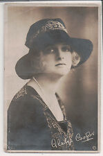 Vintage Postcard Dame Gladys Cooper English actress  RPPC