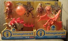 Fisher Price Imaginext Pterodacty & Stegosaurus Dinosaurs With Accessories *New*