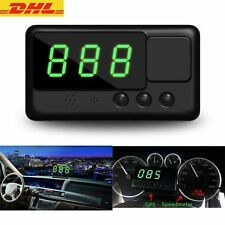 Universal Auto GPS HUD Head Up LCD Display Tacho Geschwindigkeit Speed Warning
