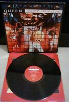 "Queen ‎– Live Magic Vinyl 12"" LP + Inner EMI 3519 1986"