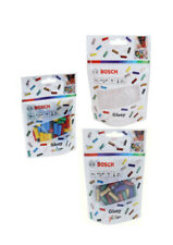 Bosch Gluey Klebesticks, 70 Stück, Transparent|Bunt|Glitter|Pop-Mix, 7 x 20 mm
