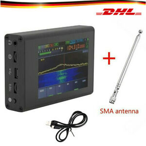 "SDR Malachite Shortwave Radio Receiver 3.5"" TFT Touch with Antenna 50KHz-200MHz"