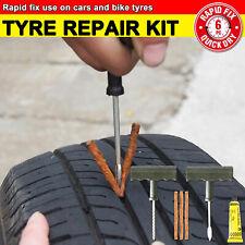Tyre Repair Kit Tire Puncture Emergency Tools Set Bike Car Tubeless OZ STOCK