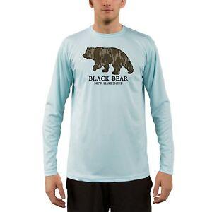 Mossy Oak Original Bottomland Black Bear New Hampshire Men's UPF 50+ T-Shirt