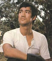 100% cotton thin vintage Bruce Lee Kung Fu martial arts wing chun T-shirt