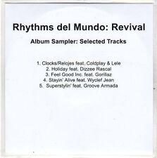 (EO317) Rhythms Del Mundo: Revival sampler - 2010 DJ CD