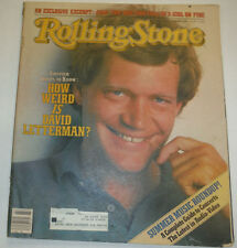 Rolling Stone Magazine David Letterman & Edie Sedgwick June 1982 022315r