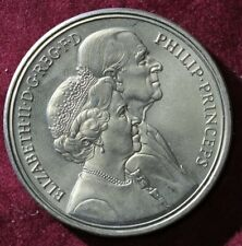 1997 £5 coin 50th wedding anniversary of Queen Elizabeth II & Prince Philip