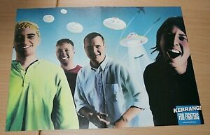 FOO FIGHTERS band large A3 size original magazine glossy ART poster
