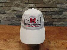 Miami University Cradle Of Coaches Hat Cap Miami Redhawks Baseball Hat