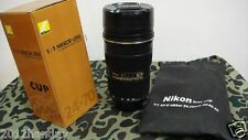 Camera Lens 1:1 Thermos Coffee Cup Stainless Mug with Bag For Nikon AF-S 24-70mm