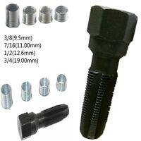 Spark Plug Rethread repair tool 4Inserts Helicoil Inserts Reamer Tap Kit 14mm