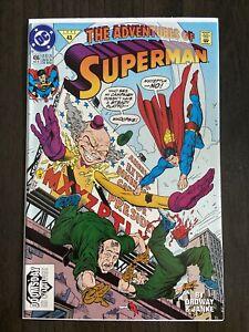 🔥Adventures of Superman #496 (1992)-Nm Near Mint🔥