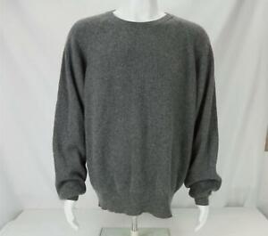 Daniel Cremieux 100% Cashmere Sweater Gray Men's XXL - NWT