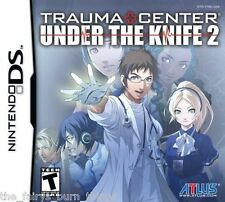 Trauma center under the knife 2 brand new sealed Nintendo DS NDS vendeur britannique