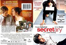 Secretary ~ New DVD ~ James Spader, Maggie Gyllenhaal (2002)