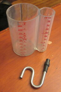 """BRIX Cup """"5:1 Soda Syrup Dispenser Measuring Device"""" -Very Good Condition"""