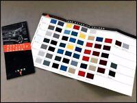 1992 Pontiac Color Paint Guide Original Car Sales Brochure - Firebird Grand Prix
