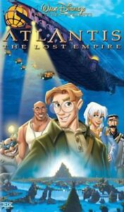 Walt Disney Is Classic At Lantice The Lost Empire VHS Movie LN Free Shipping