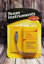 TI TEXAS INSTRUMENTS CALCULATOR  USB GRAPH LINK  KIT TI 83 85 86 89 92 NEW