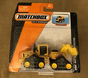 NEW Matchbox W6866-0912 Real Working Rigs MBX All-Terrain Tractor 2013