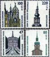 BRD (BR.Deutschland) 2156-2157,2176-2177 (kompl.Ausg.) gestempelt 2001 Sehenswür