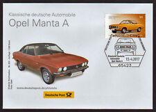 Opel Manta Klassische dt. Automobile EB Brief Nr. 203 Rüsselsheim - ausverkauft