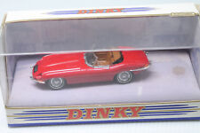 DINKY TOYS  * JAGUAR E-TYPE CONVERTIBLE * 1:43 * OVP * RED