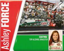 2006 Ashley Force Castrol Top Alcohol Dragster NHRA postcard