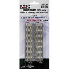 20-023 KATO Unitrack Voies Doubles 124mm N 1/160