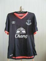 Everton 2016/2017 Away Size S Umbro football shirt soccer jersey maillot trikot