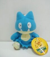 "Munchlax Pokemon Top Insight Keychain Mascot Plush 4"" TAG Toy Doll Japan"