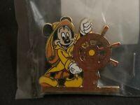 1990's Disney Cruise Line Cast Exclusive Helmsman Mickey Retired Disney Pin 128