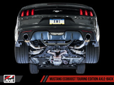 AWE TUNING 2015-2017 FORD MUSTANG ECOBOOST TURBO EXHAUST SYSTEM WITH CHROME TIPS
