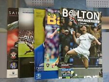 More details for chelsea 5 x 2004/05 champions away football programmes