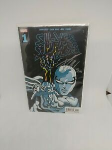 Silver Surfer Black #1 Signed By Donny Cates COA from Dynamic forces.
