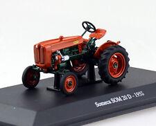 Someca SOM 20D orange 1958 Traktor 1:43 UH Universal Hobbies Modellauto