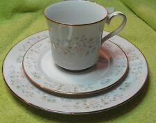 Lenox Bouquet Collection Daisy Basket 3-Piece Set Plate, Cup, Saucer Porcelain