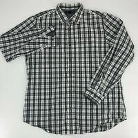 Banana Republic Mens Long Sleeve Button Down Shirt Size XL Soft Washed Slim Fit