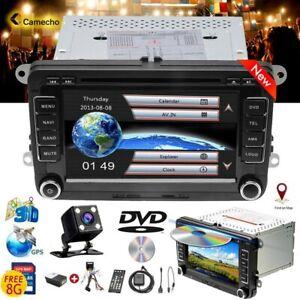 """For VW Golf MK5 MK6 Jetta Transporter Passat 7"""" Car DVD Radio GPS Sat Nav Stereo"""