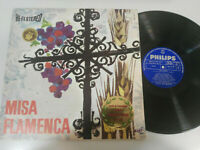 "Misa Flamand Victor Monje Serranito Choeur Maitea 1966 + Livret - LP 12 "" vinile"