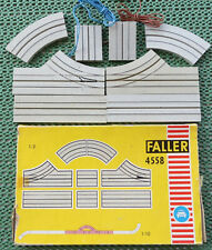Faller Ams 4558 Forks Single Lane in New Original Box